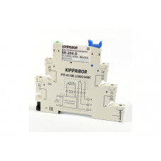 Колодки монтажные серий PYF-011BE (для 1-контактных промежуточных реле)