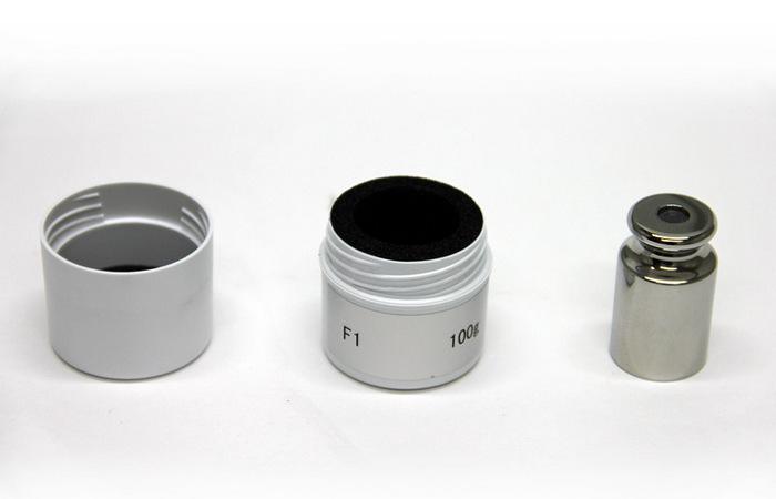 Гиря 100 г F1 OIML R 111-1 в футляре