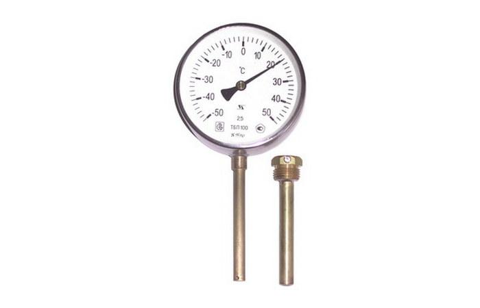 Термометры биметаллические, технические, промышленные, без резьбовые