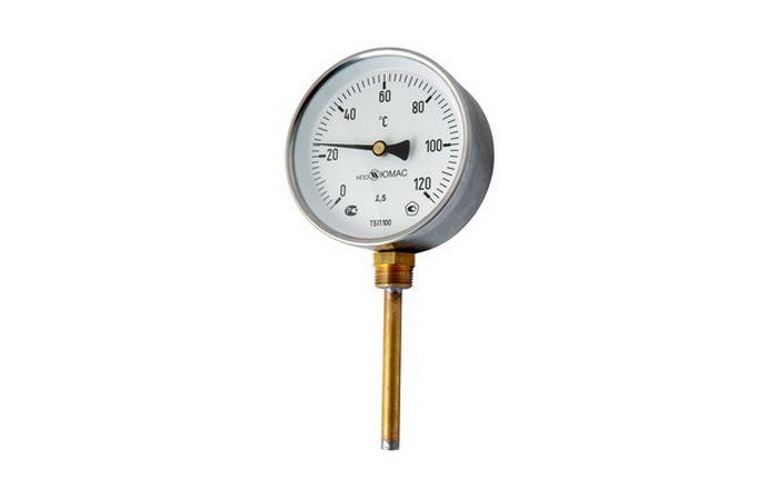 Термометры биметаллические, технические, промышленные, резьбовые