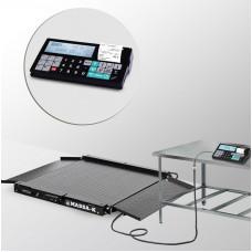 Весы низкопрофильные с печатью чеков 4D-LA-2_RС