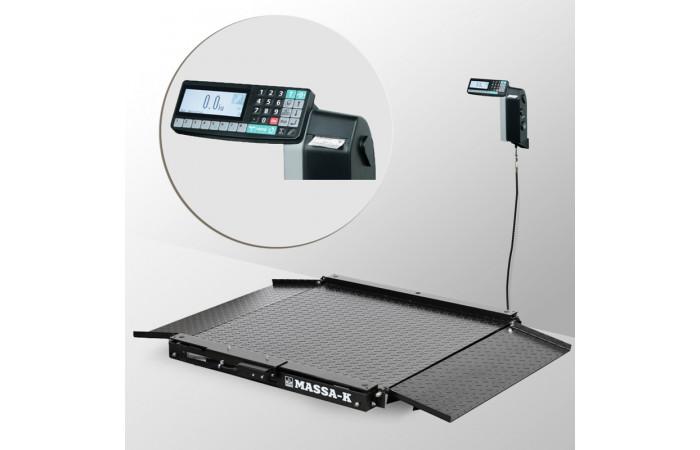 Весы низкопрофильные с печатью этикеток 4D-LA-4_RL