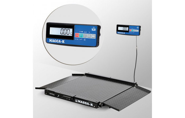Весы низкопрофильные 4D-LA-4_A(RUEW)
