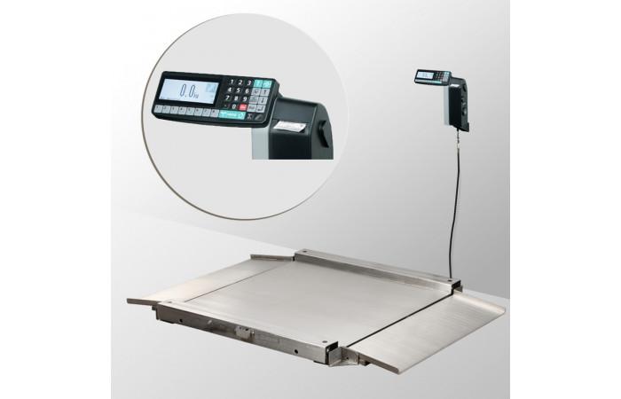 Весы низкопрофильные с печатью этикеток 4D-LA.S-4_RL