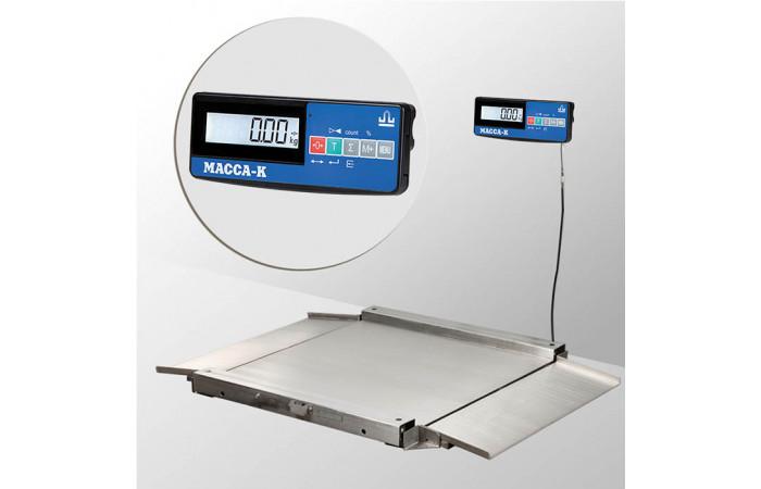 Весы низкопрофильные 4D-LA.S-4_A(RUEW)