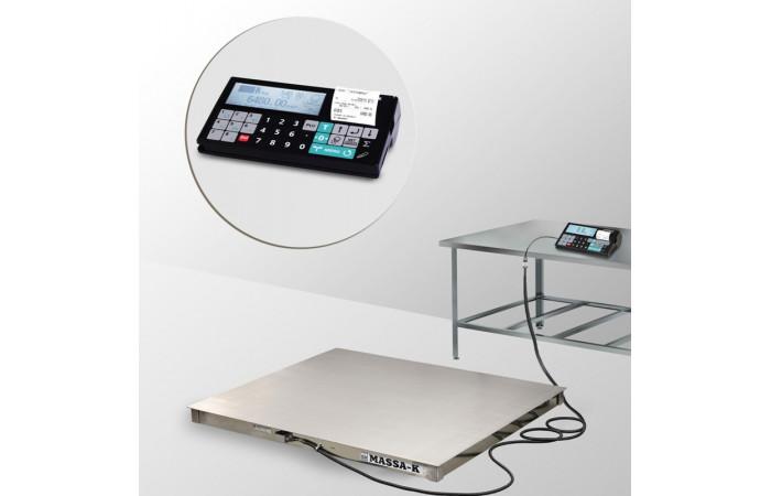 Весы платформенные с печатью чеков 4D-PM.S-2_RС