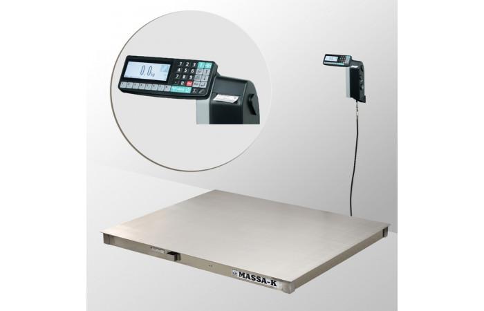 Весы платформенные с печатью этикеток 4D-PM.S-2_RL
