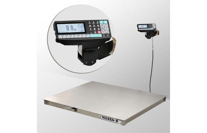 Весы платформенные с печатью этикеток 4D-PM.S-2_RP