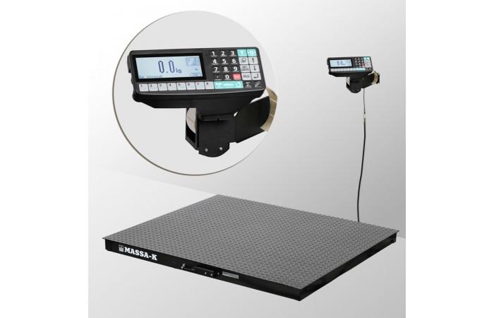 Весы платформенные с печатью этикеток 4D-PM-15/15_RP