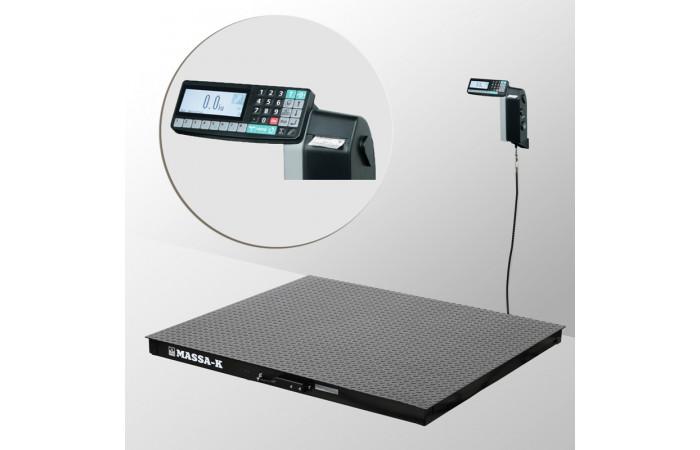 Весы платформенные с печатью этикеток 4D-PM-7-3000-RL