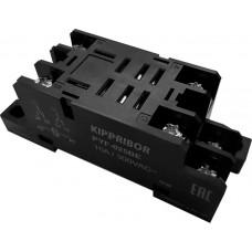 Колодки монтажные серий PYF-025 и PYF-045 для 2- и 4-контактных промежуточных реле.