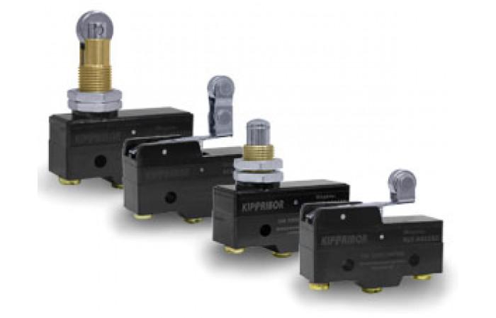 Влагозащищенные концевые выключатели KIPPRIBOR серии KLS-D4C