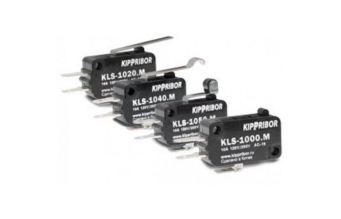 Микровыключатели KIPPRIBOR серии KLS-NS с пониженным усилием срабатывания