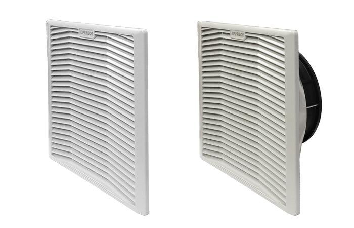 Впускные и выпускные вентиляционные решетки серии KIPVENT