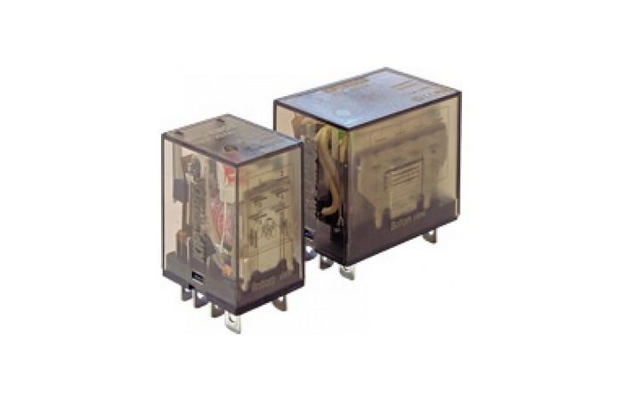 Силовые промежуточные реле KIPPRIBOR серии REP (2- и 4-контактные).