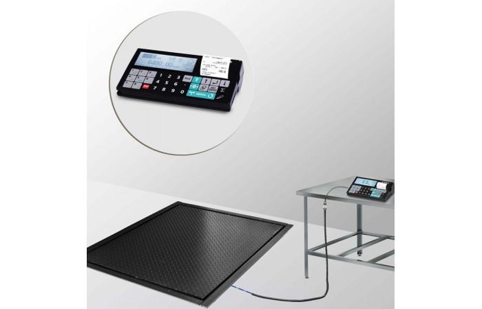 Весы врезные с печатью чеков и отчетов 4D-PMF-7_RC