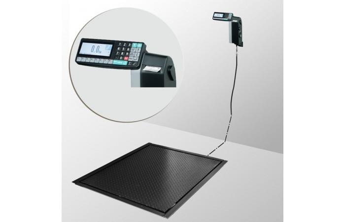 Весы платформенные с печатью этикеток 4D-PMF-7-3000-RL